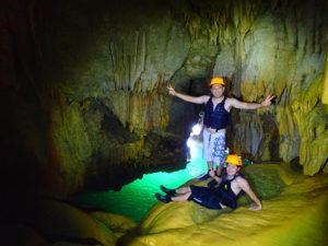 宮古島旅行でパンプキンホール探検ツアーに参加