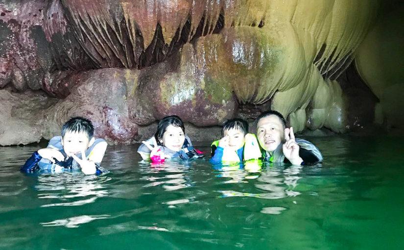 宮古島鍾乳洞のパンプキンホール
