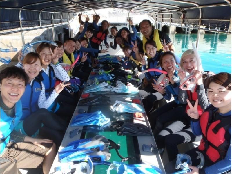 伊良部島のグラスボート