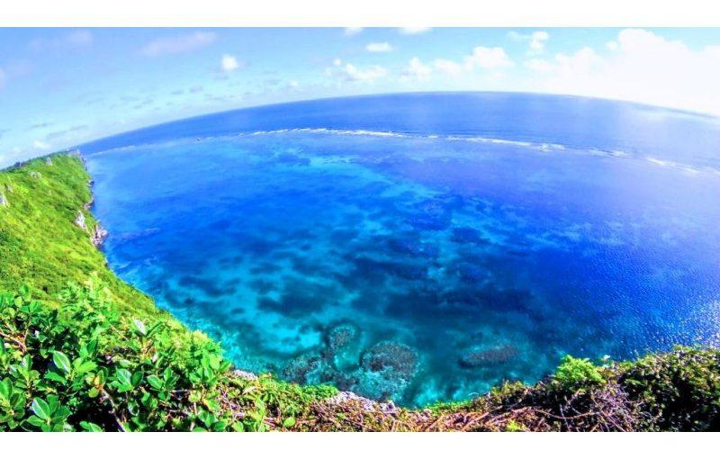宮古島の観光スポットの三角点