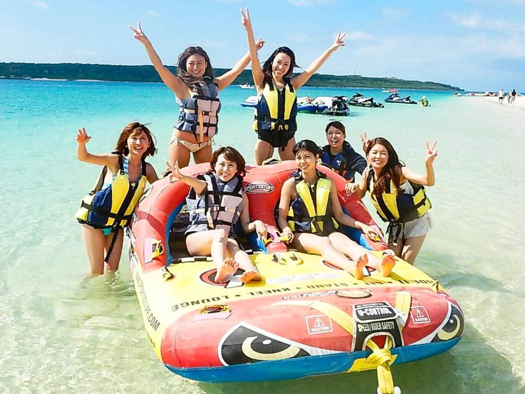 宮古島の観光スポットの与那覇前浜