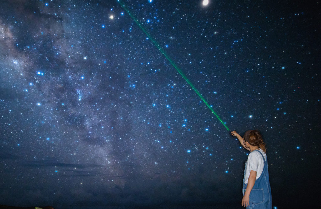 宮古島のアクティビティの星空