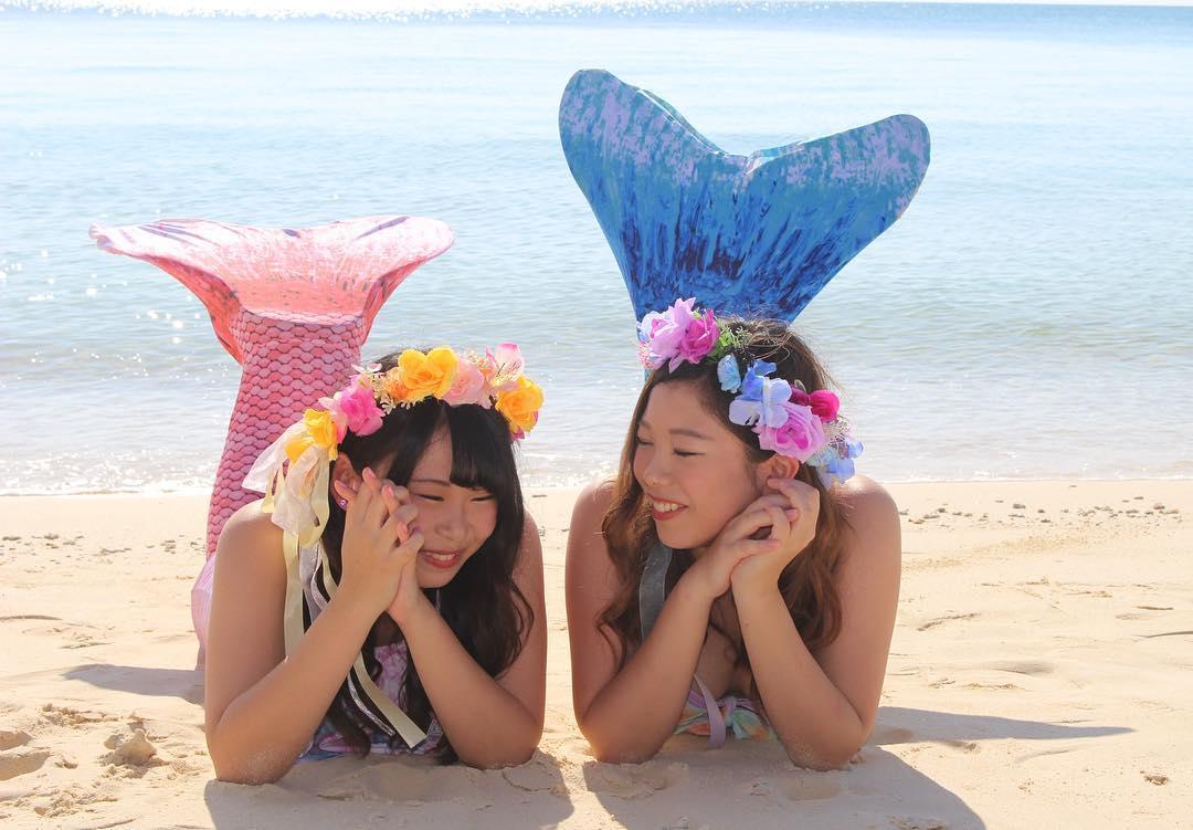 宮古島のマーメイドフォトツアー