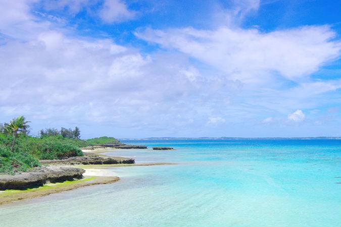 宮古島の美しいビーチ