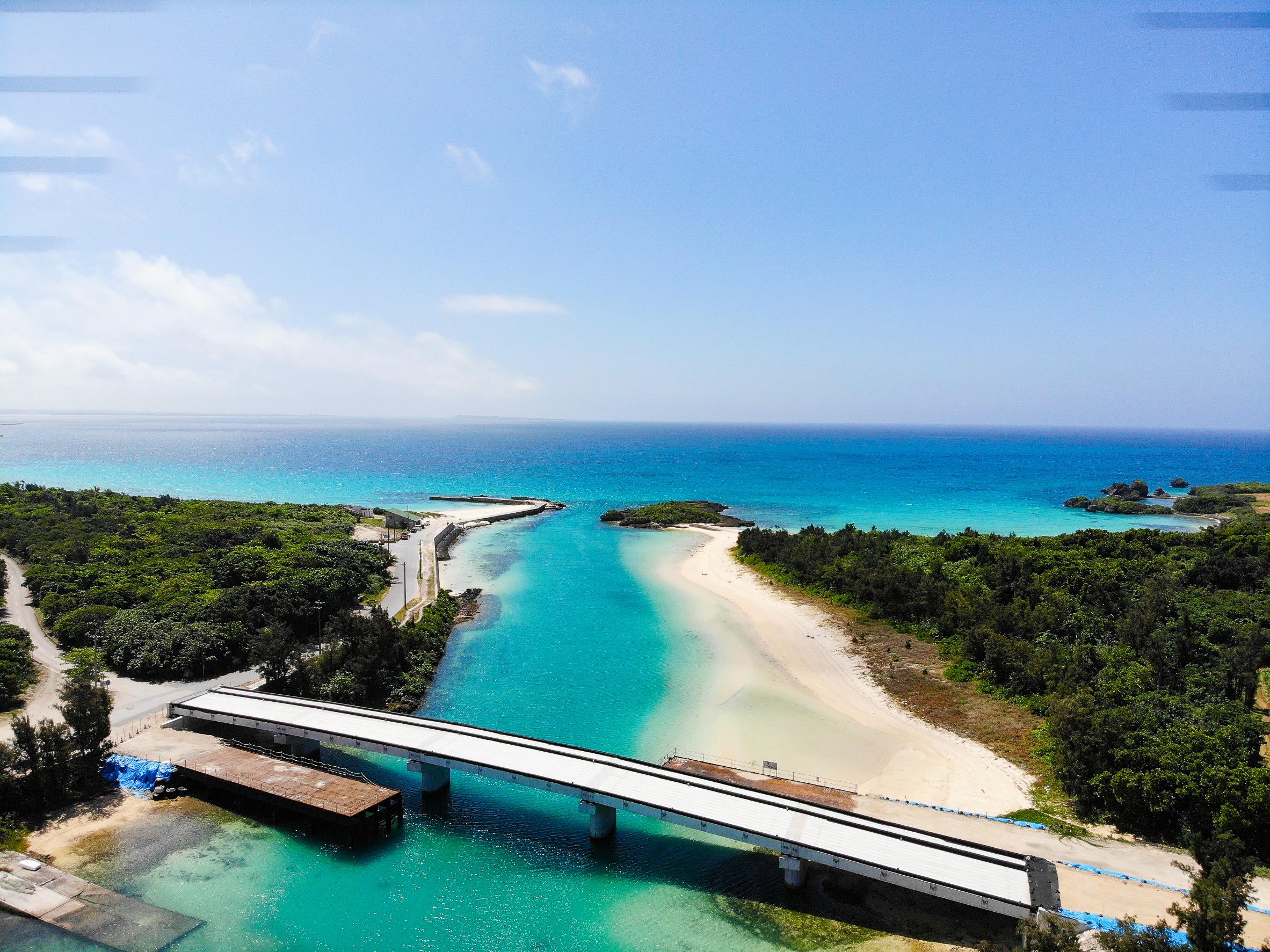 伊良部島の美景ビーチ
