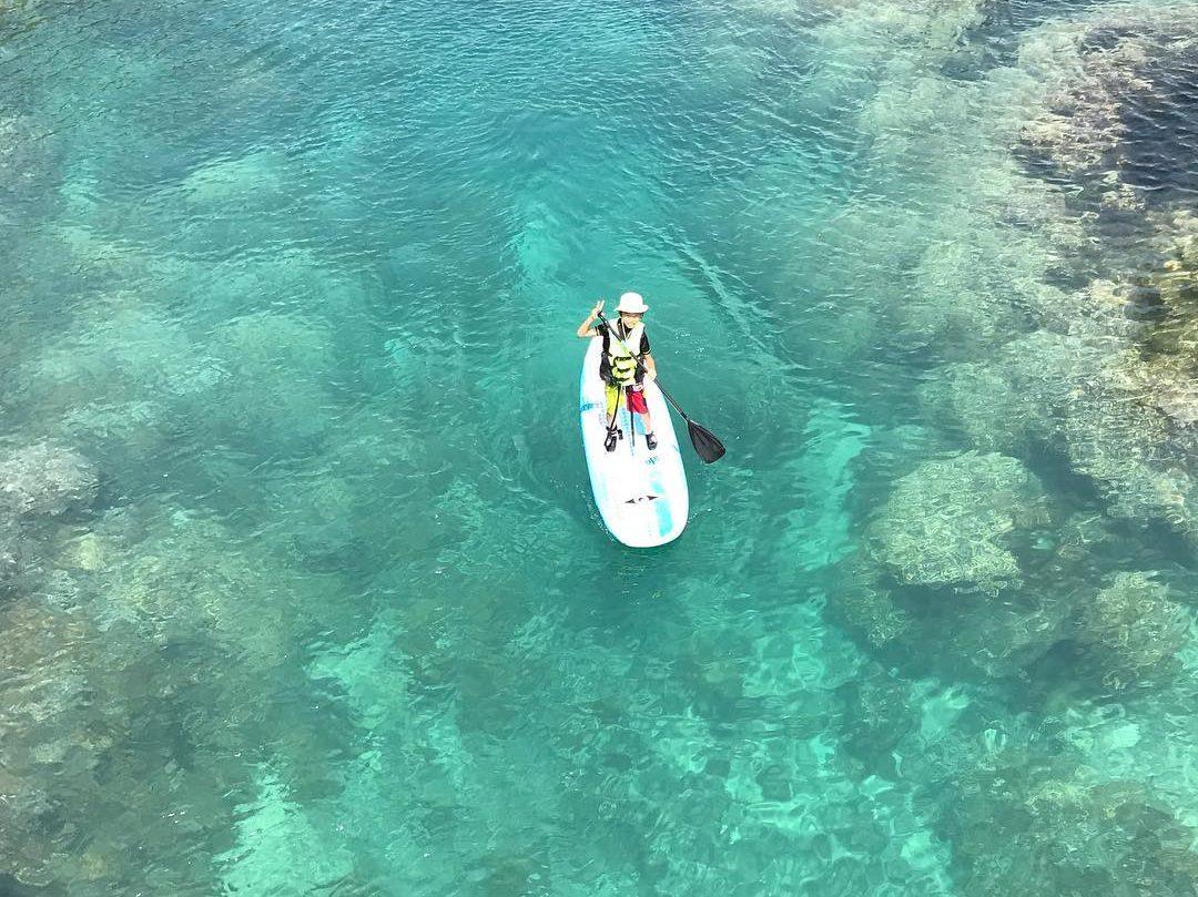 宮古島の体験SUPツアー