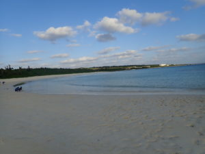 宮古島の観光スポットの渡口の浜