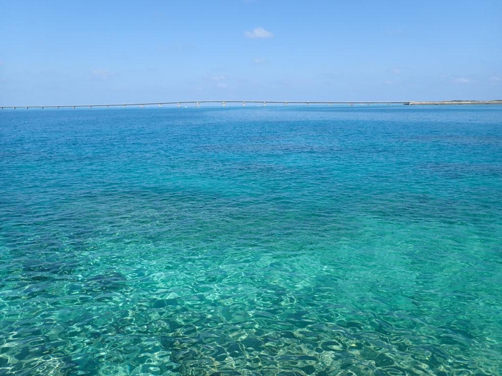 宮古島の観光スポットの西平安名崎
