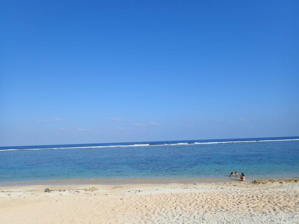 宮古島の観光スポットの吉野海岸