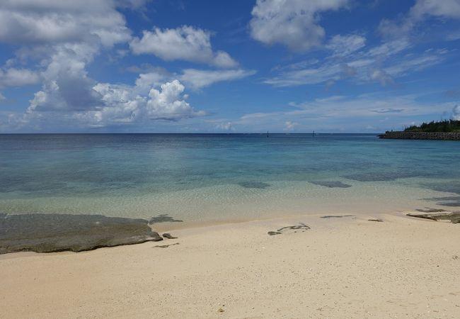 宮古島の観光スポットの真謝海岸
