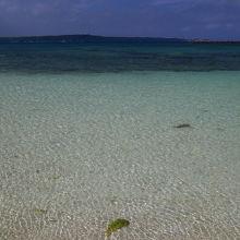 宮古島の観光スポットの宮古サンセットビーチ