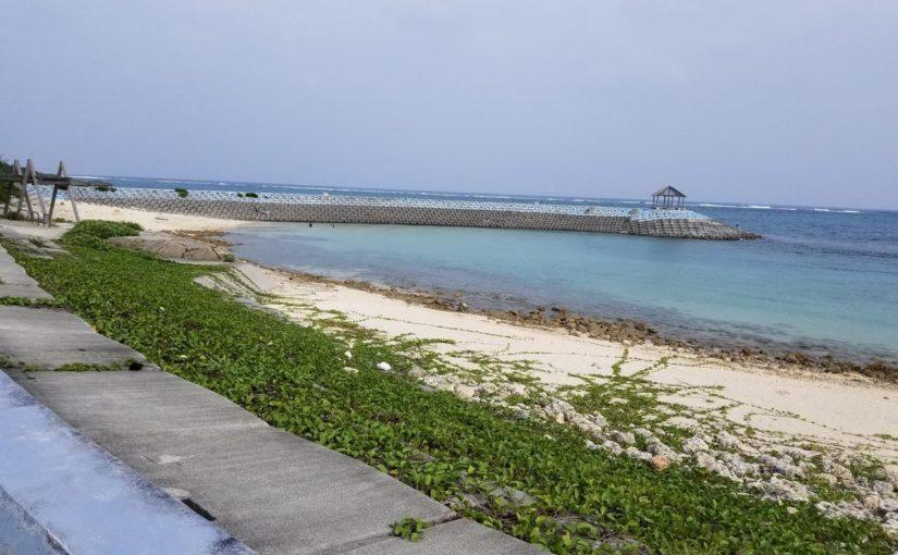 宮古島の観光スポットの博愛わいわいビーチ