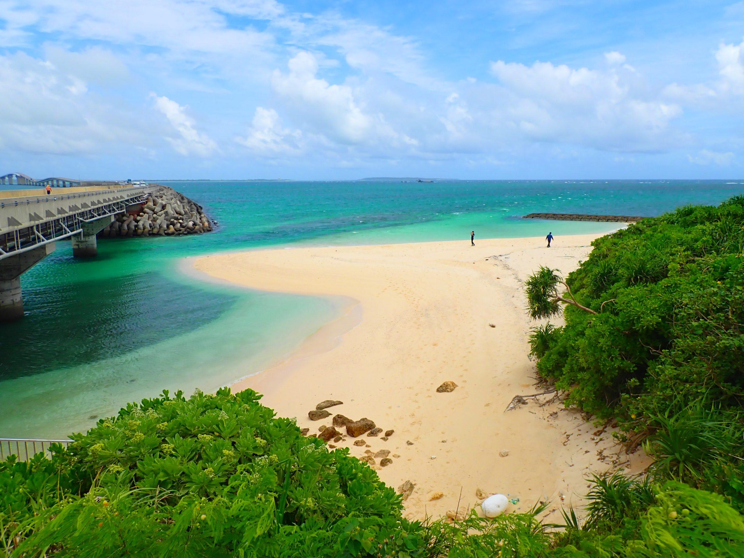 伊良部島の長山ビーチ