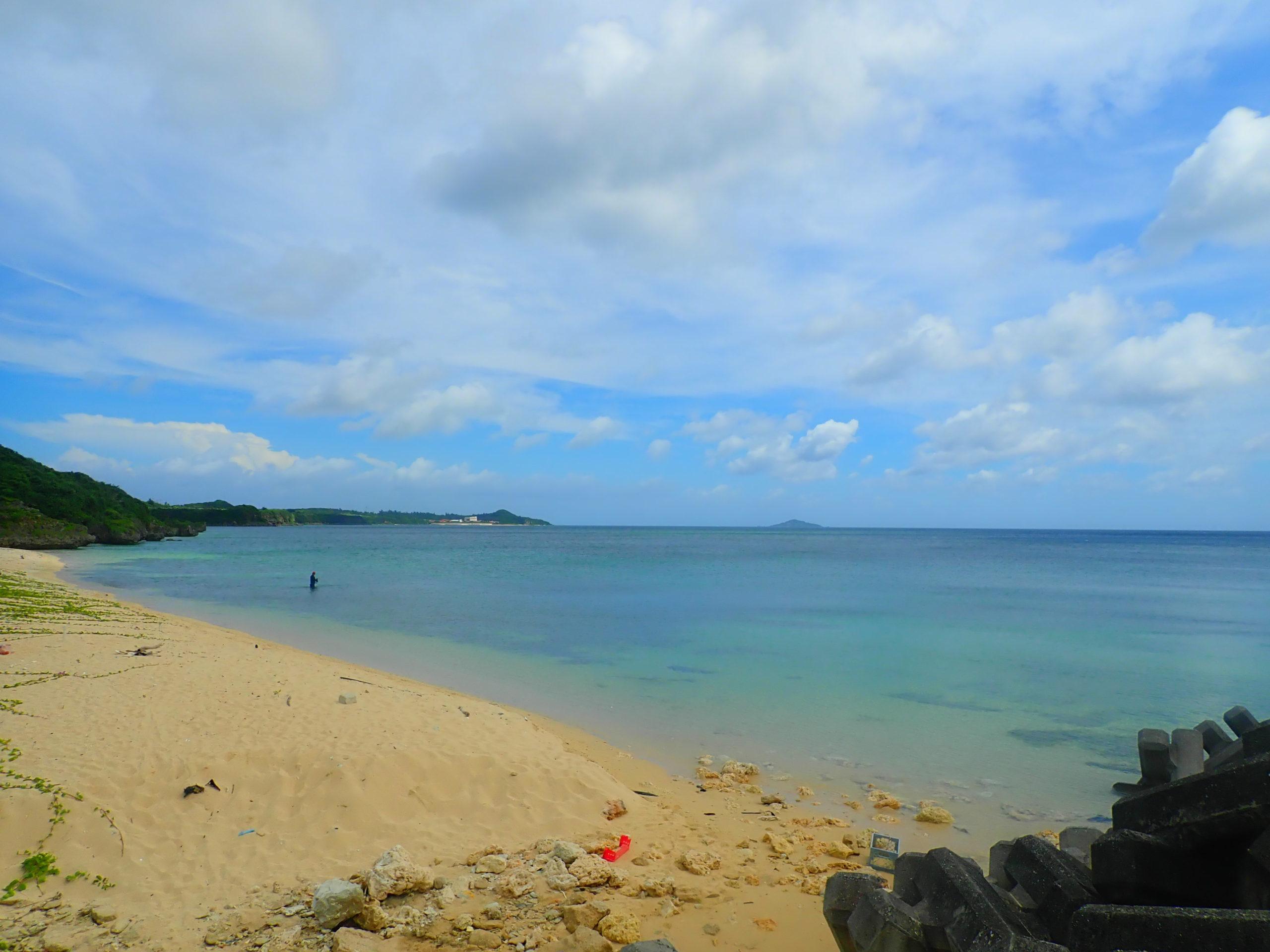 宮古島の真謝ビーチ