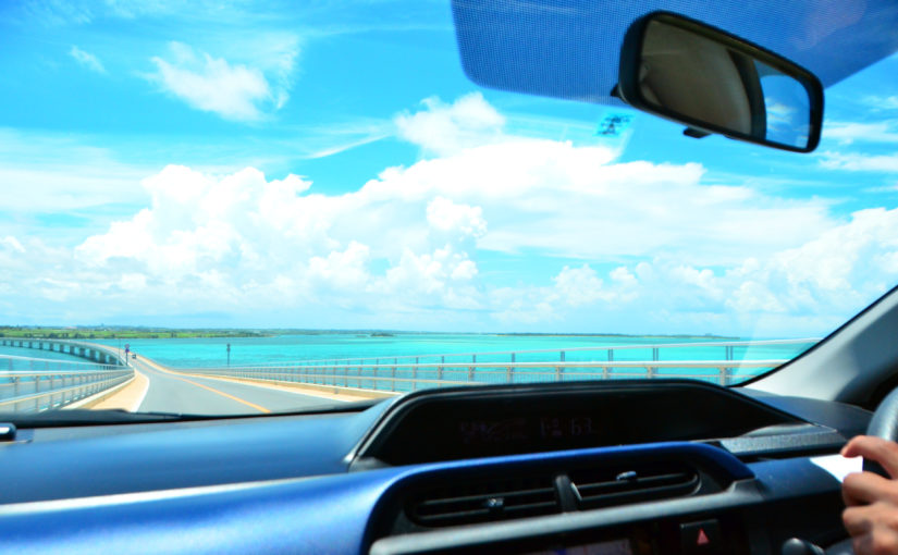 宮古島をドライブ