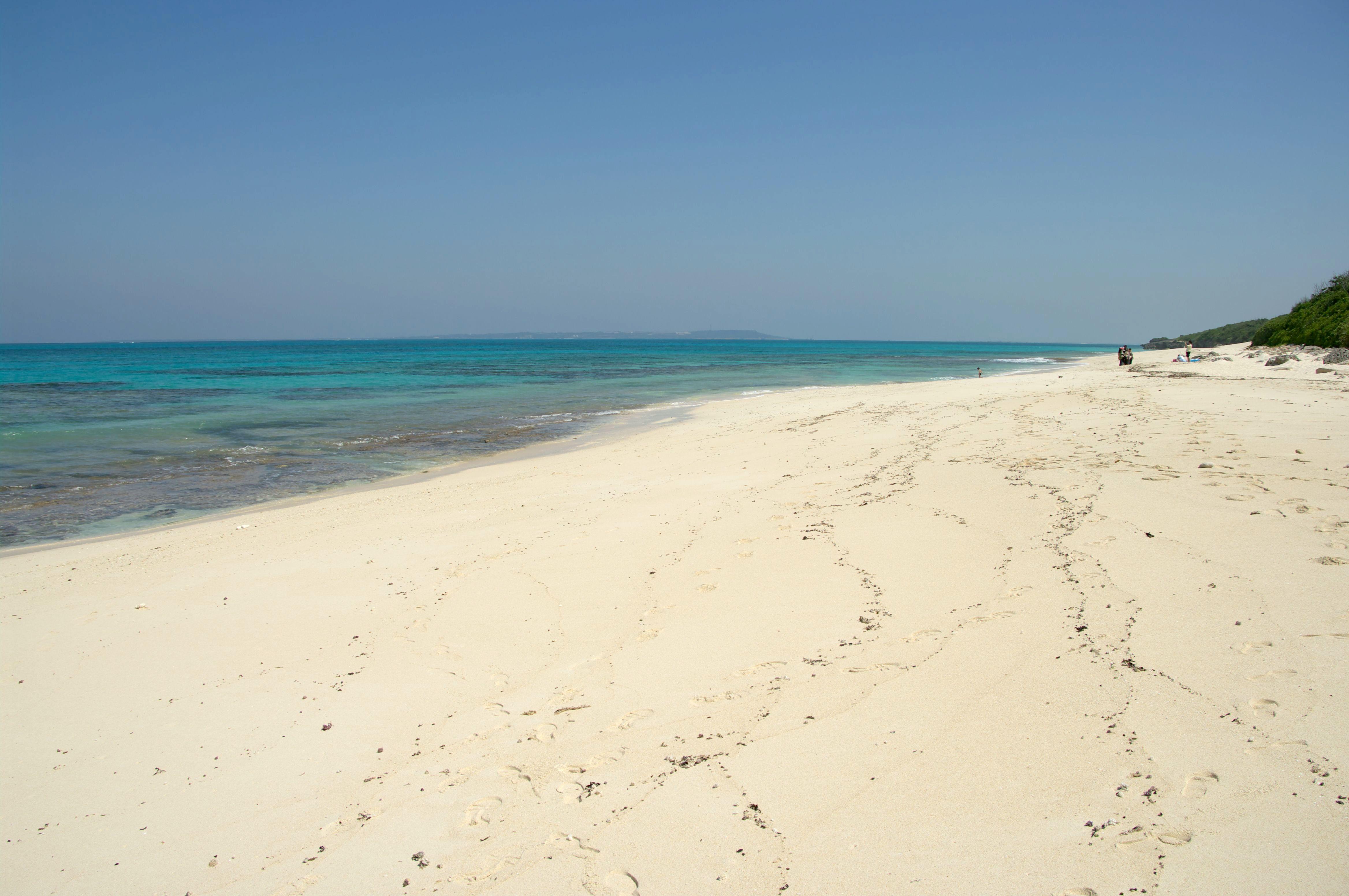 宮古島のシュノーケリングの長間浜
