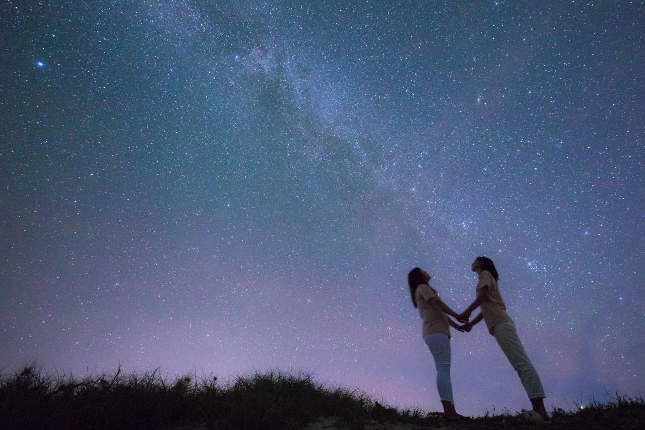 女子旅で星空フォトツアー