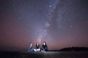 満天の星空の中でのフォトツアー