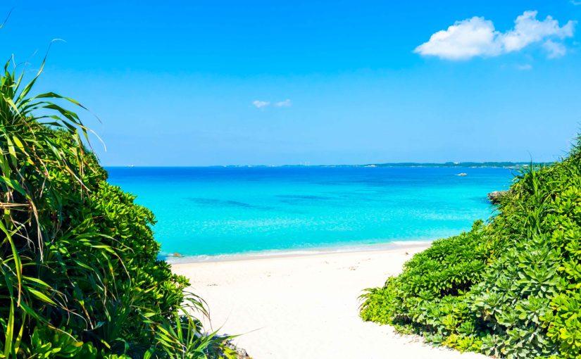 宮古島の夏のイメージ
