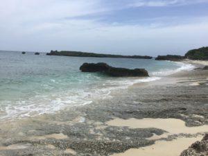 カギンミビーチ(池間ロープ)