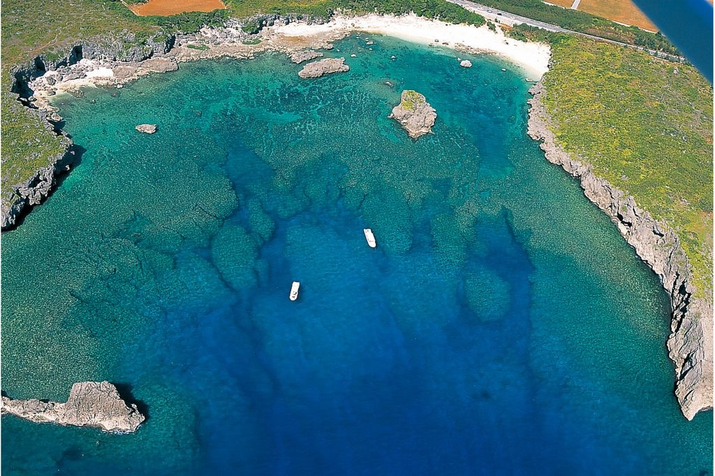 下地島の中の島ビーチでの体験ダイビング