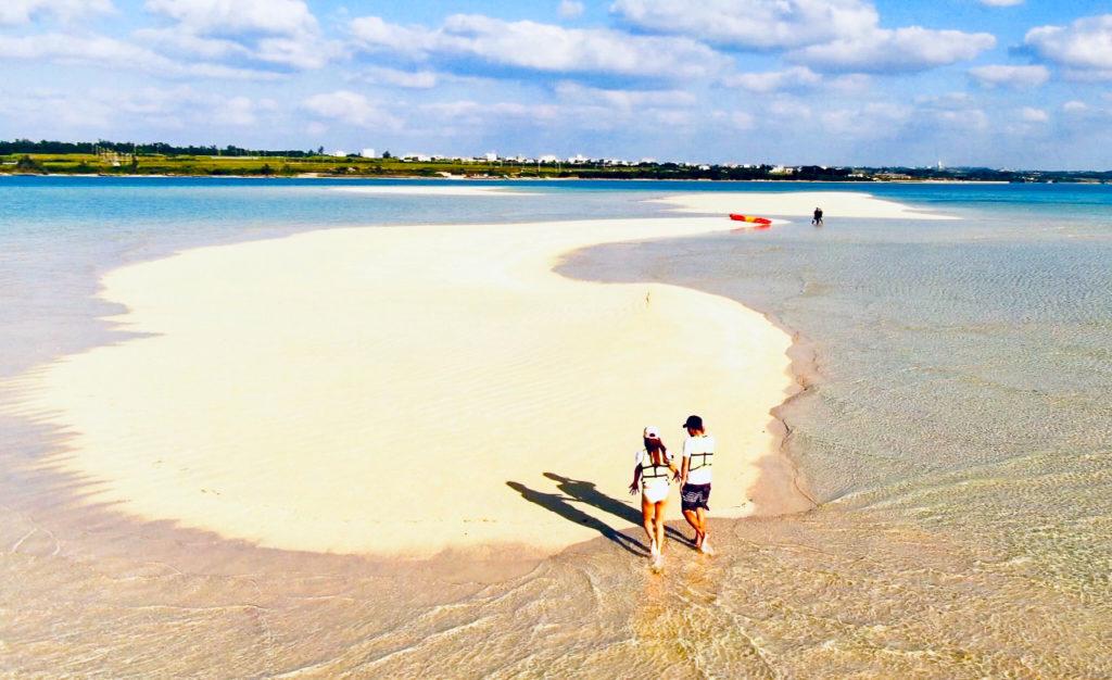 宮古島の観光スポットのゆにの浜