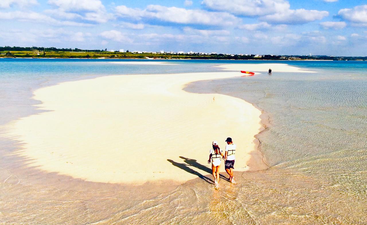 幻の島ゆにの浜
