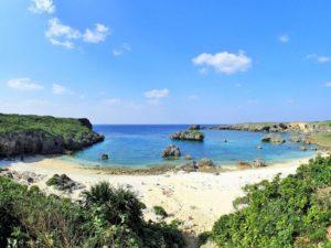 宮古島の観光スポットの中の島ビーチ