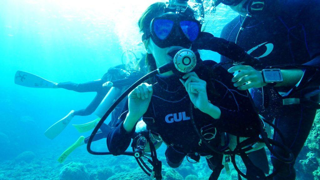 宮古島の体験ダイビングツアー