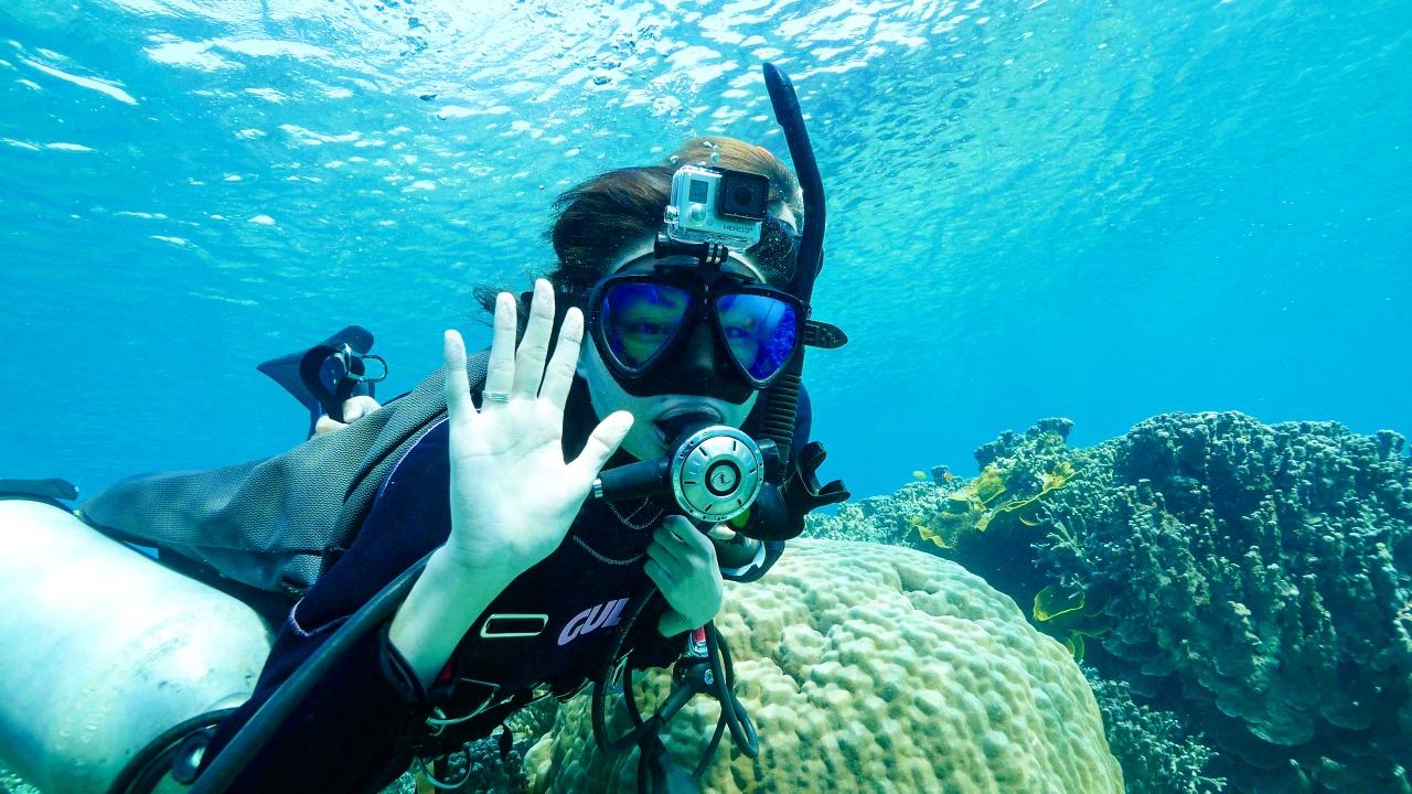 体験ダイビングで宮古島の海を満喫