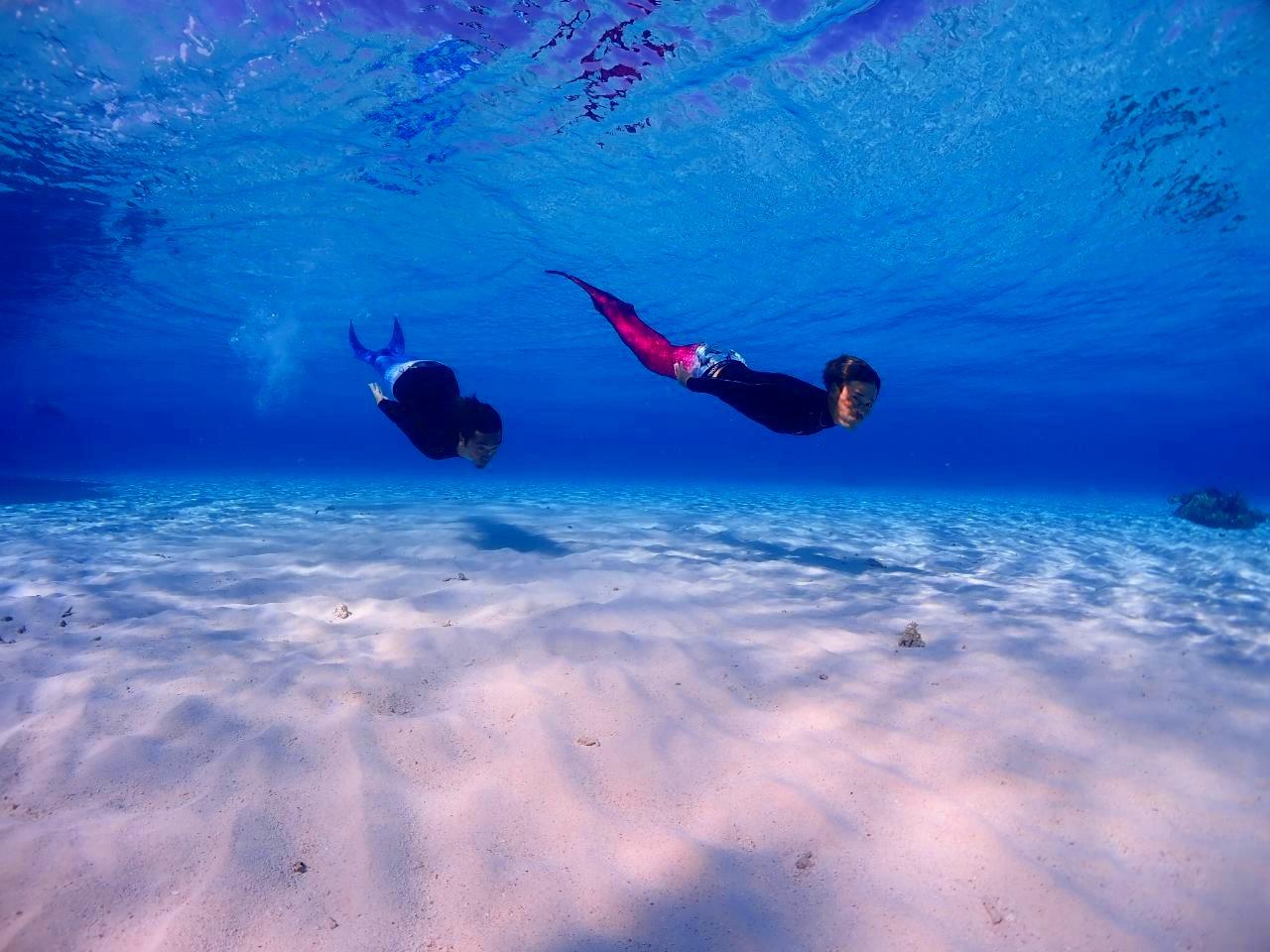 女子旅で宮古島の海をシュノーケリング
