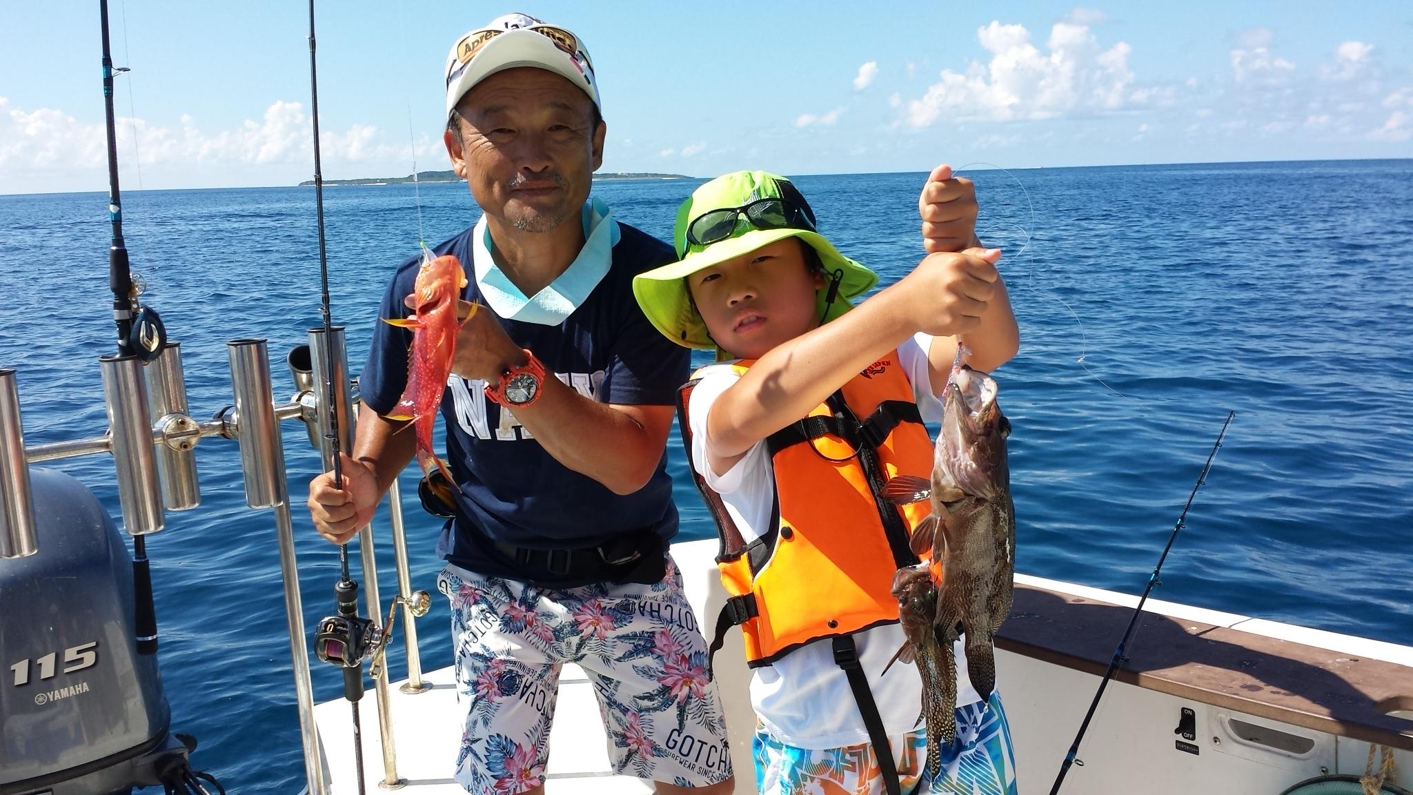 家族旅行で釣りを体験