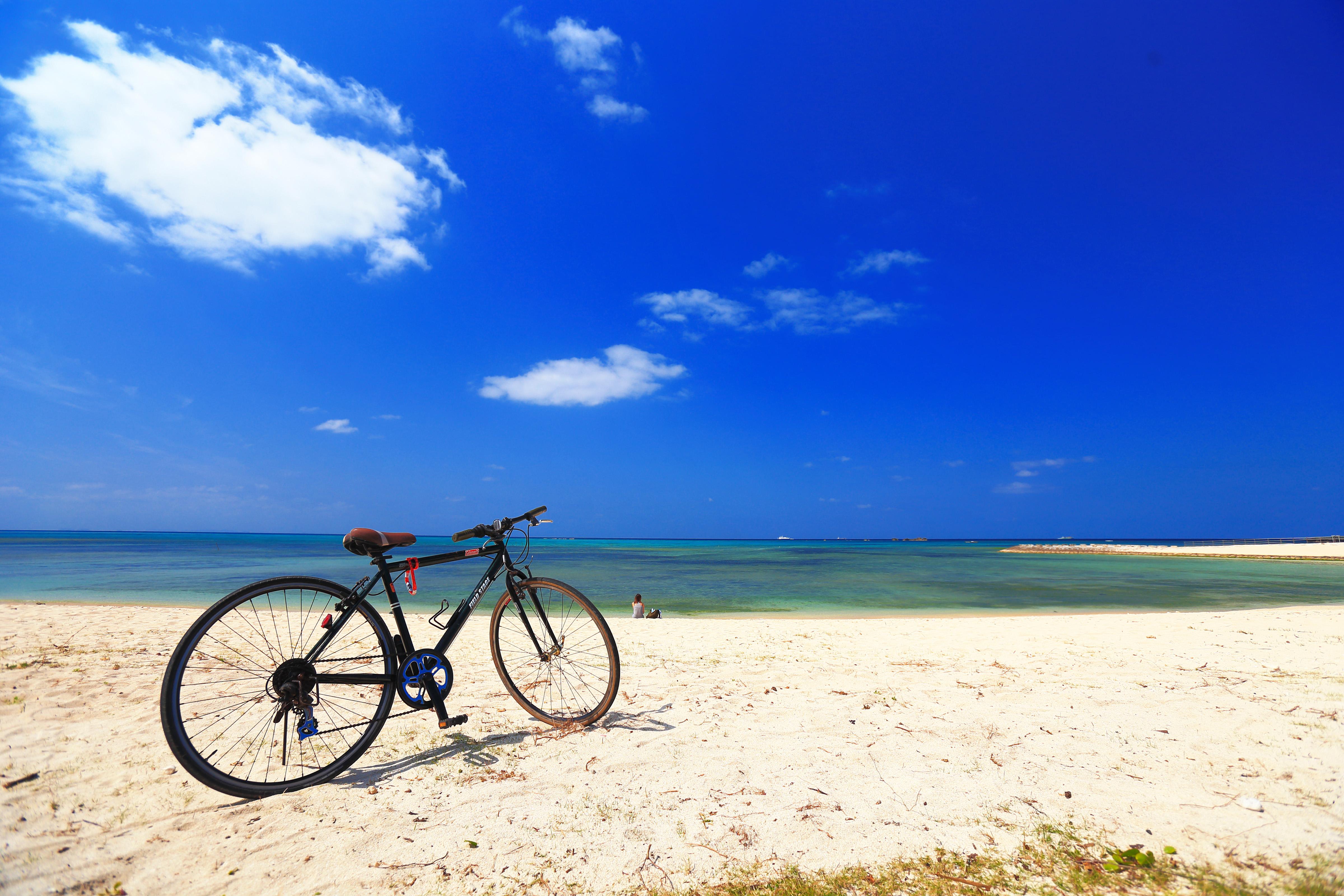 自転車での宮古島旅行のイメージ