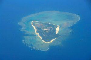 水納島の外観