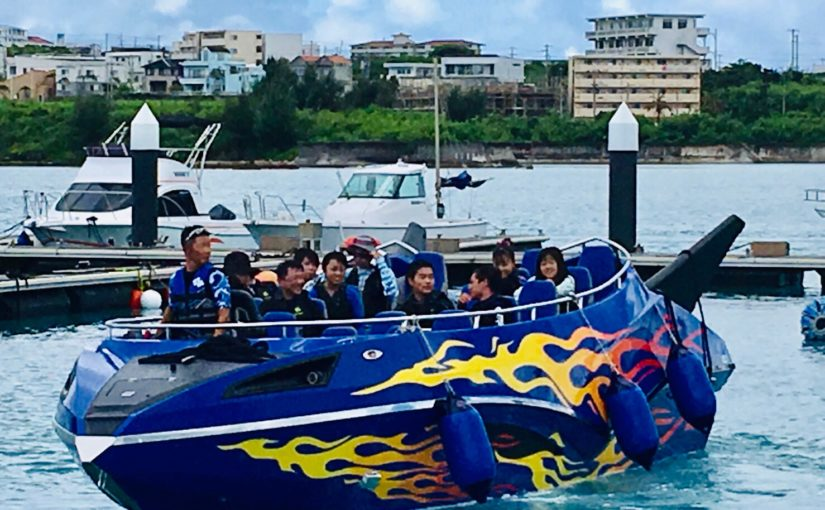 宮古島のジェットボード