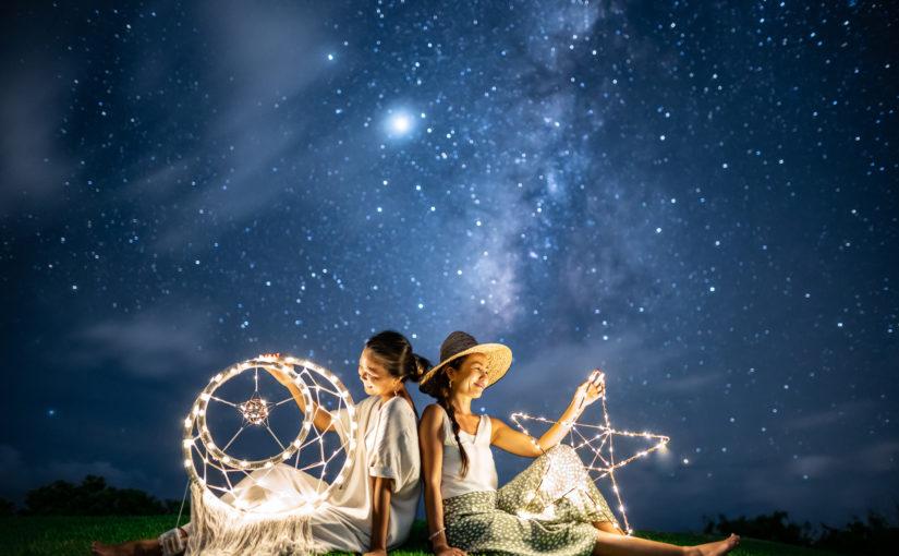 星空フォトツアー,宮古島,天の川,満点の星空