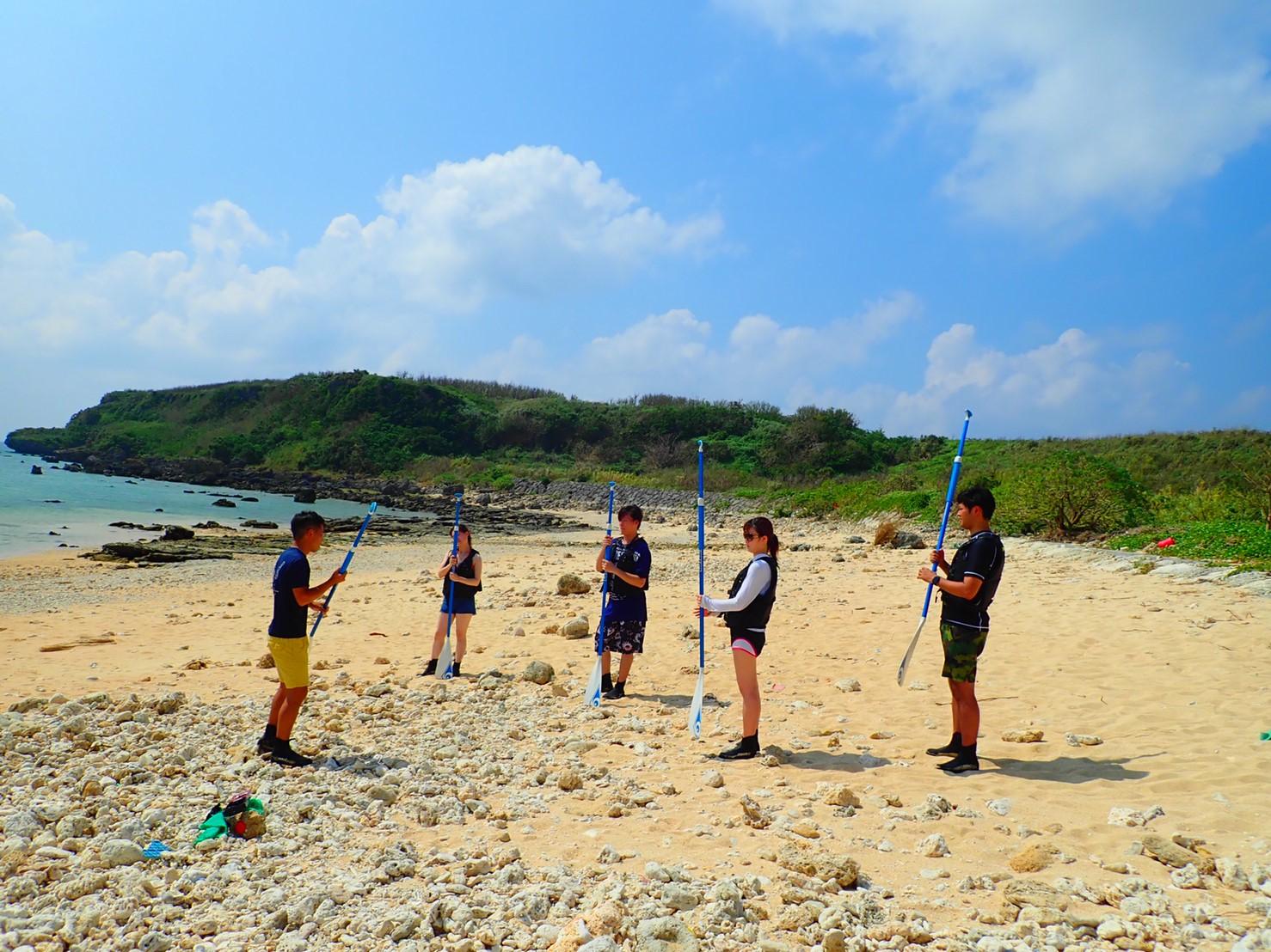 宮古島のSUPツアー