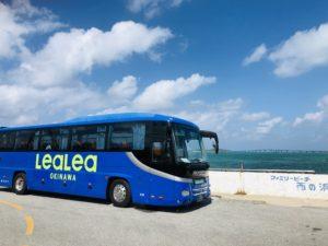 宮古島の観光バス
