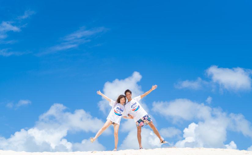 宮古島,カジュアルフォト,新婚,カップル,白い砂浜,宮古島の海,